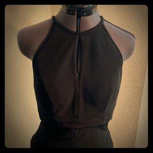 US size 10 women's Long black dress